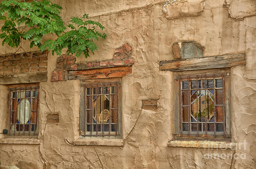Three Windows Photograph  - Three Windows Fine Art Print