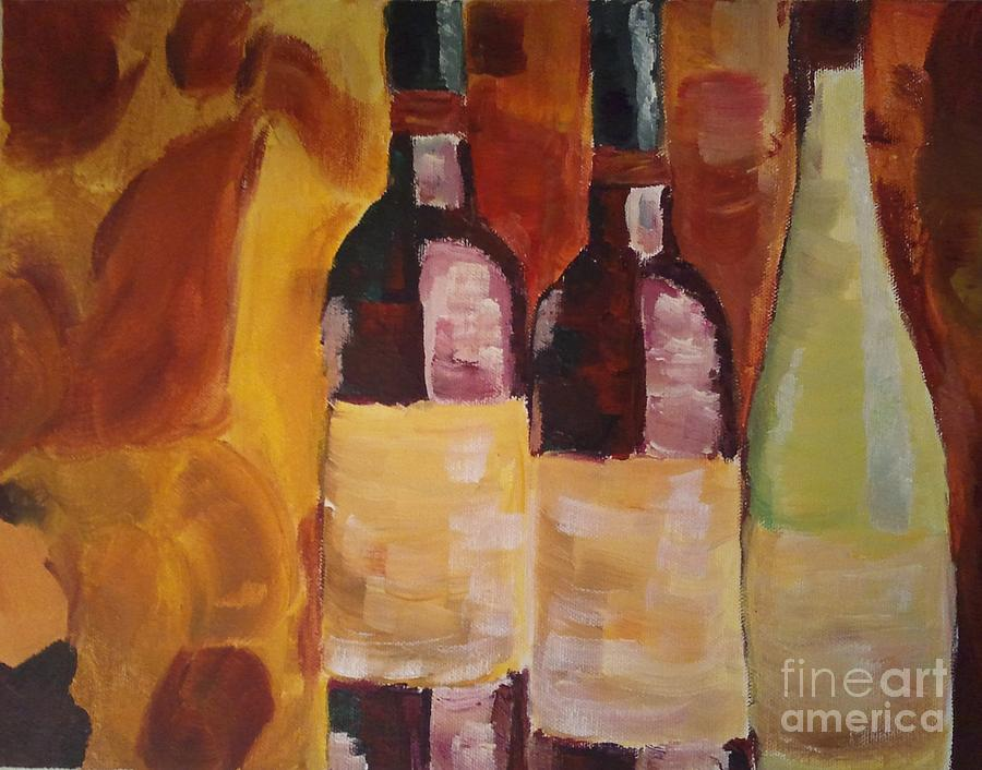Threes A Party Painting  - Threes A Party Fine Art Print