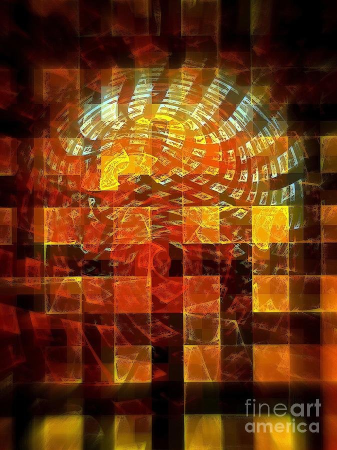 Through The Windows Digital Art