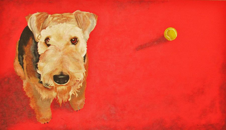 throw the BALL Painting