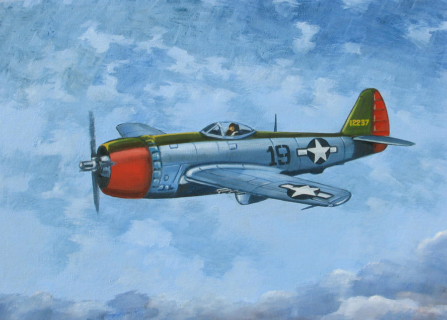 Thunderbolt Painting
