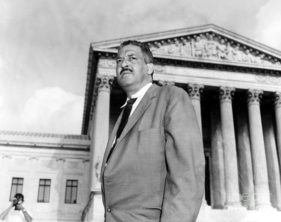 Thurgood Marshall Photograph  - Thurgood Marshall Fine Art Print