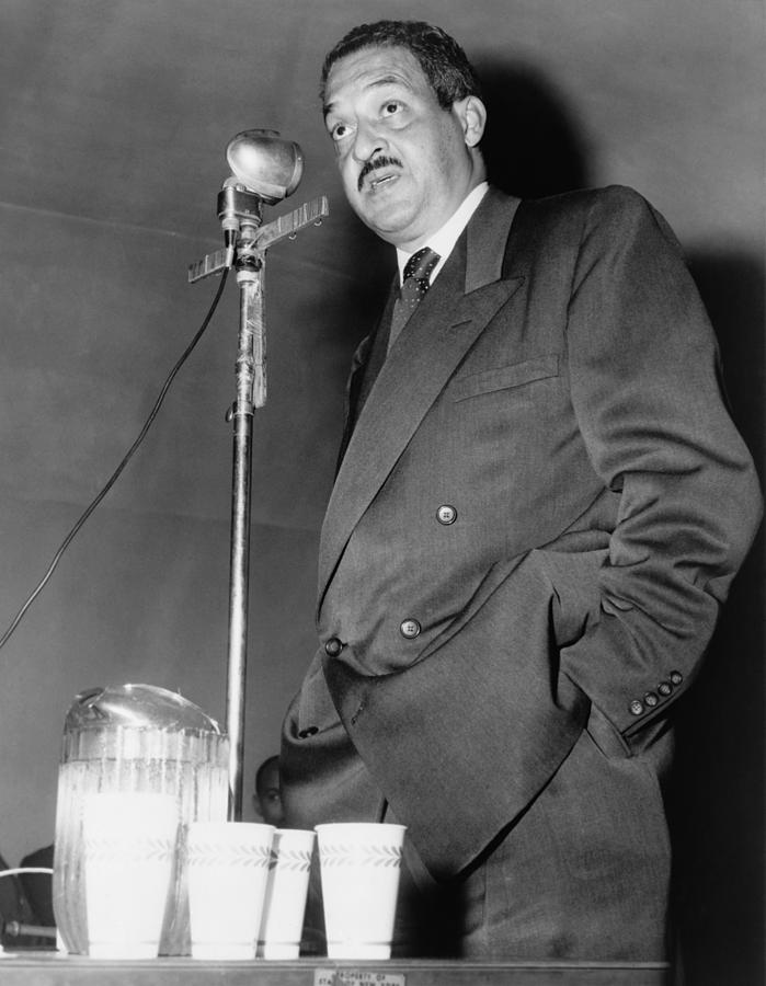 Thurgood Marshall, Then Chief Counsel Photograph