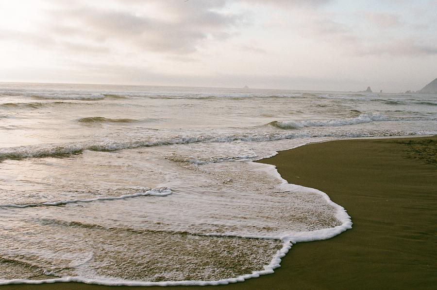 Ocean Photograph - Tide by Ariane Moshayedi