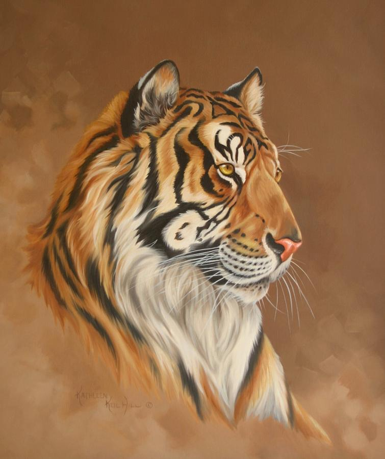 Tiger Tiger Painting