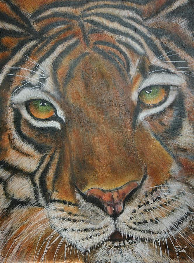 Green tiger eyes - photo#16
