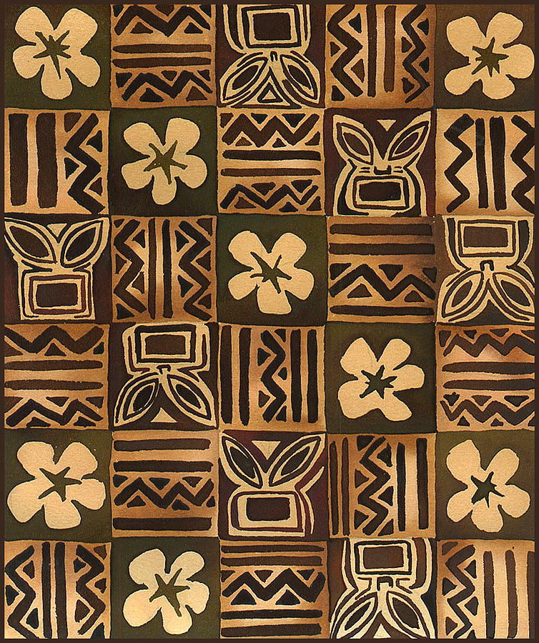 Samoan Tapa Cloth Designs | Copy Of Yr9 Tapa Cloth Designs Lessons Tes Teach