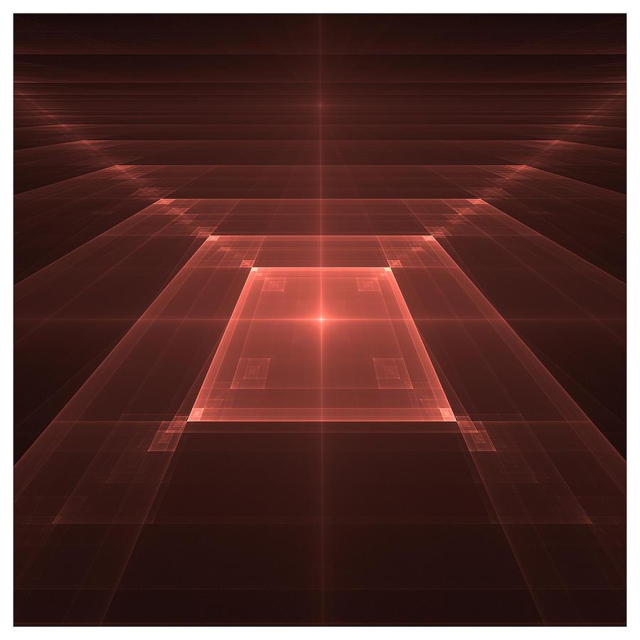 Tiled Squares II Digital Art