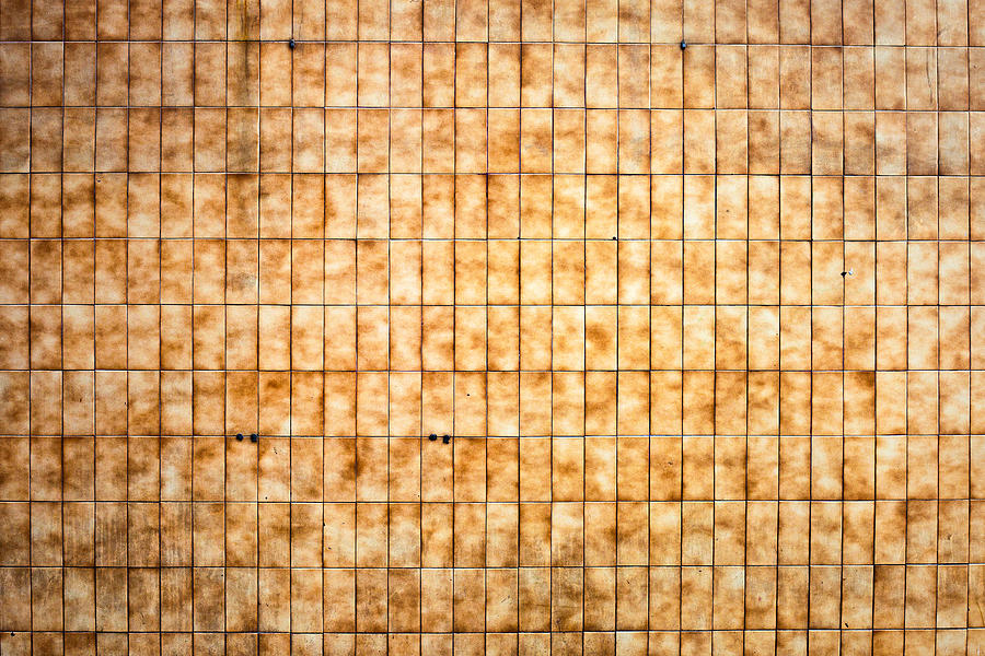 Tiled Wall Photograph