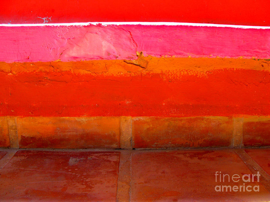 Tiles In Abstract By Michael Fitzpatrick Photograph