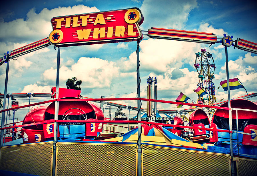 Tilt A Whirl Carnival Ride By Eye Shutter To Think