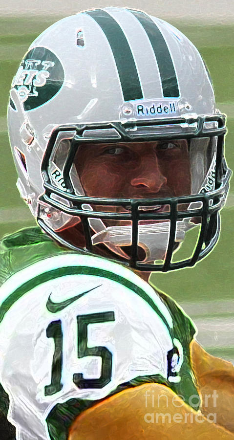 Tim Tebow Art Deco - New York Jets -  Photograph