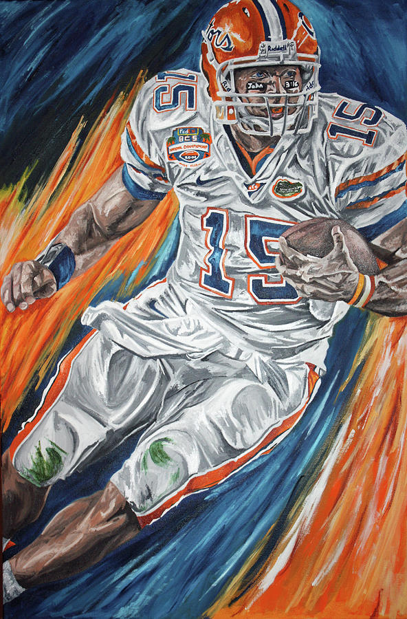 Tim Tebow Painting