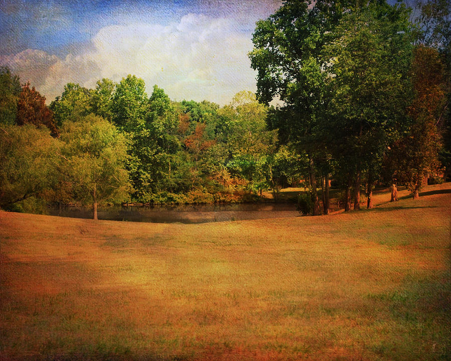 Autumn Photograph - Timbers Pond by Jai Johnson