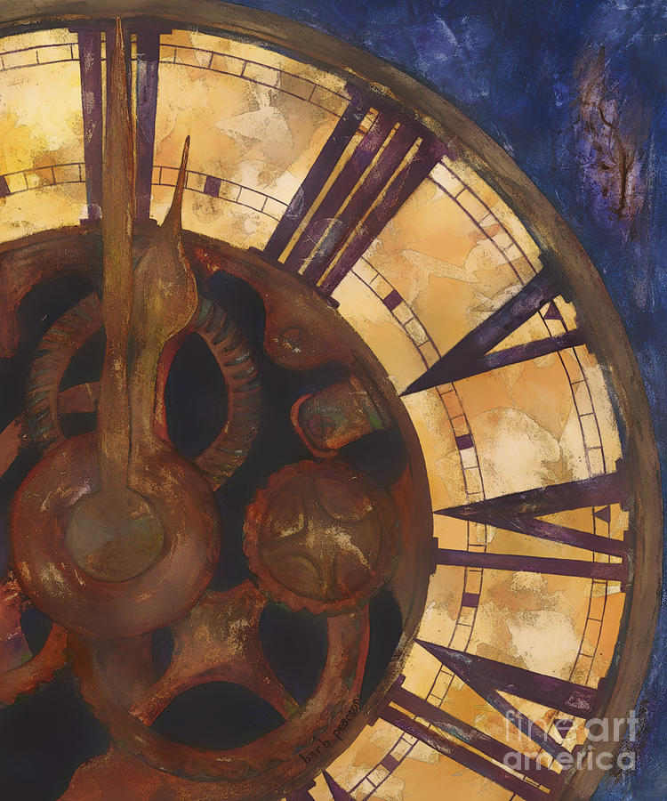 Time Askew Painting  - Time Askew Fine Art Print