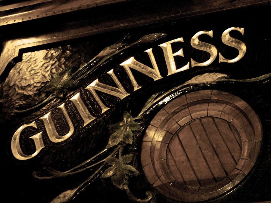 Time For A Guinness Photograph  - Time For A Guinness Fine Art Print