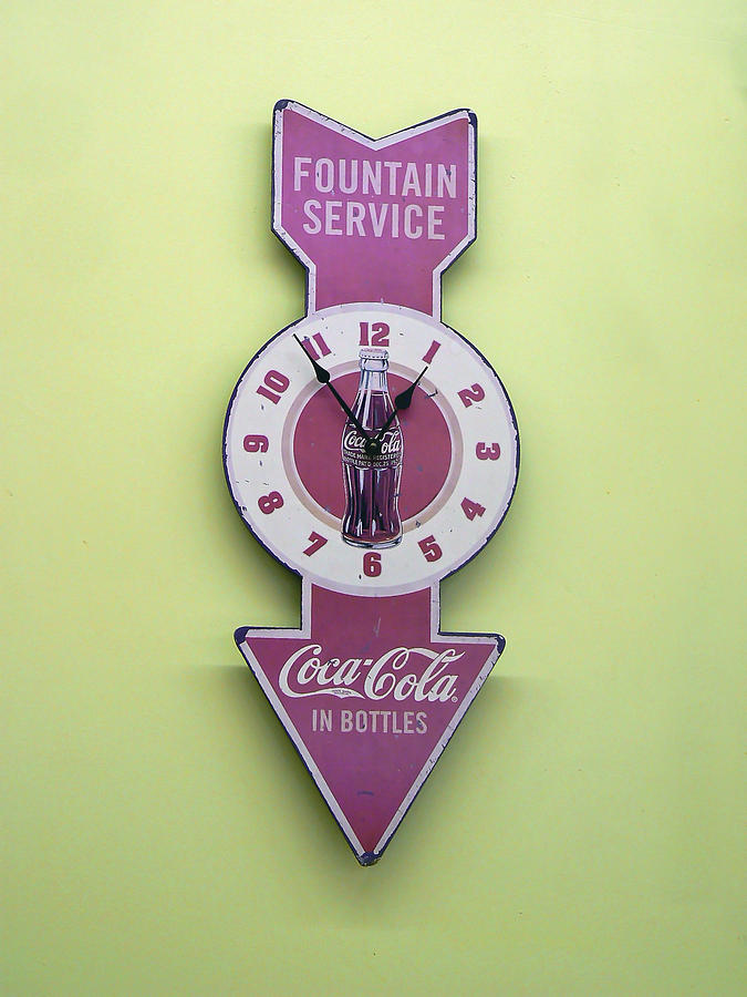 Coke Photograph - Time For Coke by Pamela Patch