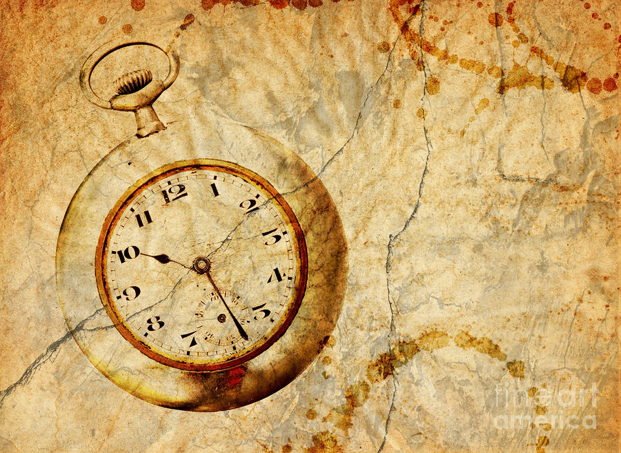 Time Digital Art  - Time Fine Art Print
