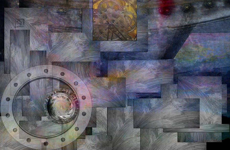 Time Travelers Digital Art  - Time Travelers Fine Art Print