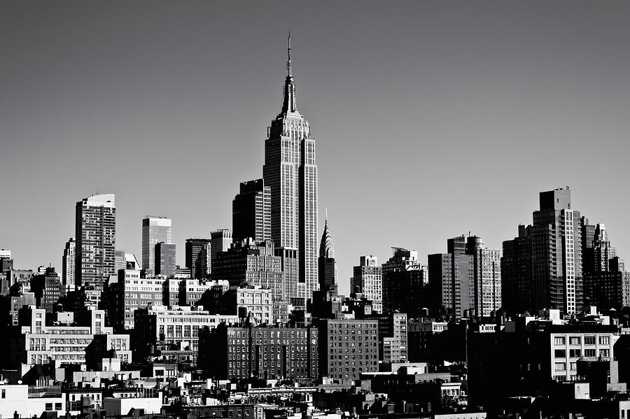 Timeless - The Empire State Building And The New York City Skyline Photograph  - Timeless - The Empire State Building And The New York City Skyline Fine Art Print