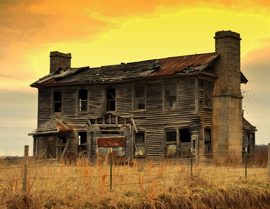 Old Building Photograph - Times Past by Marty Koch