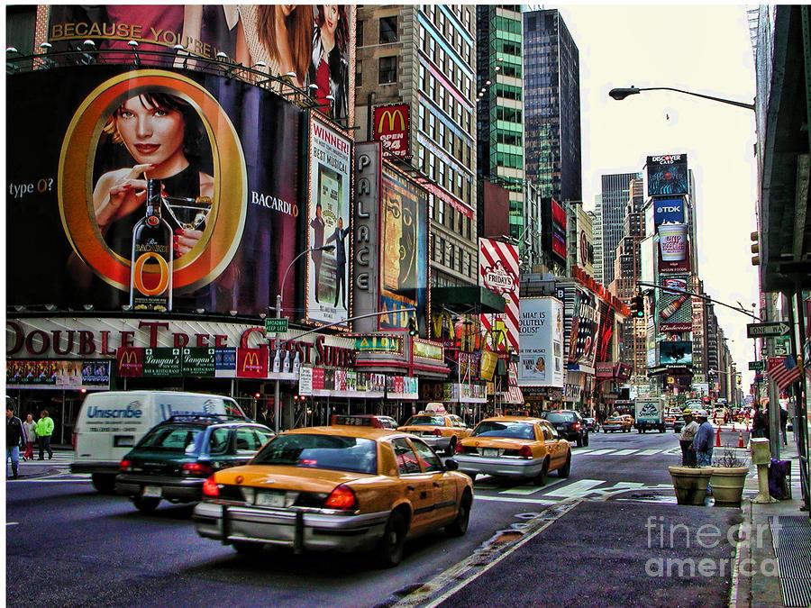 Times Square 2002 Photograph