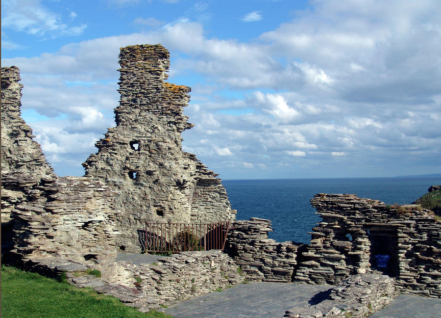 Tintagel Castle 1 Photograph