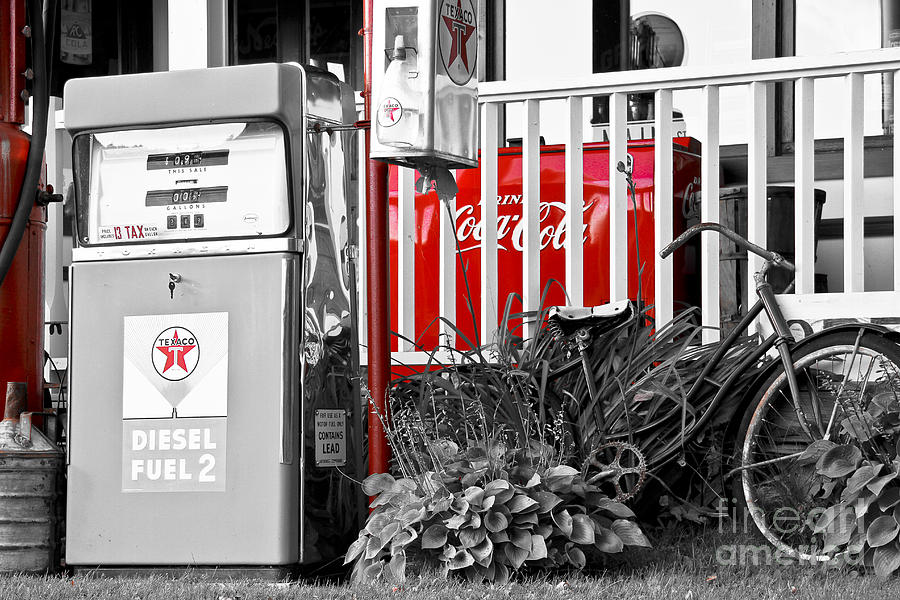 Tinted Fuel For Life Photograph  - Tinted Fuel For Life Fine Art Print