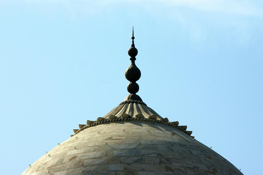 Horizontal Photograph - Tip-top Of Taj by Ashley St. John