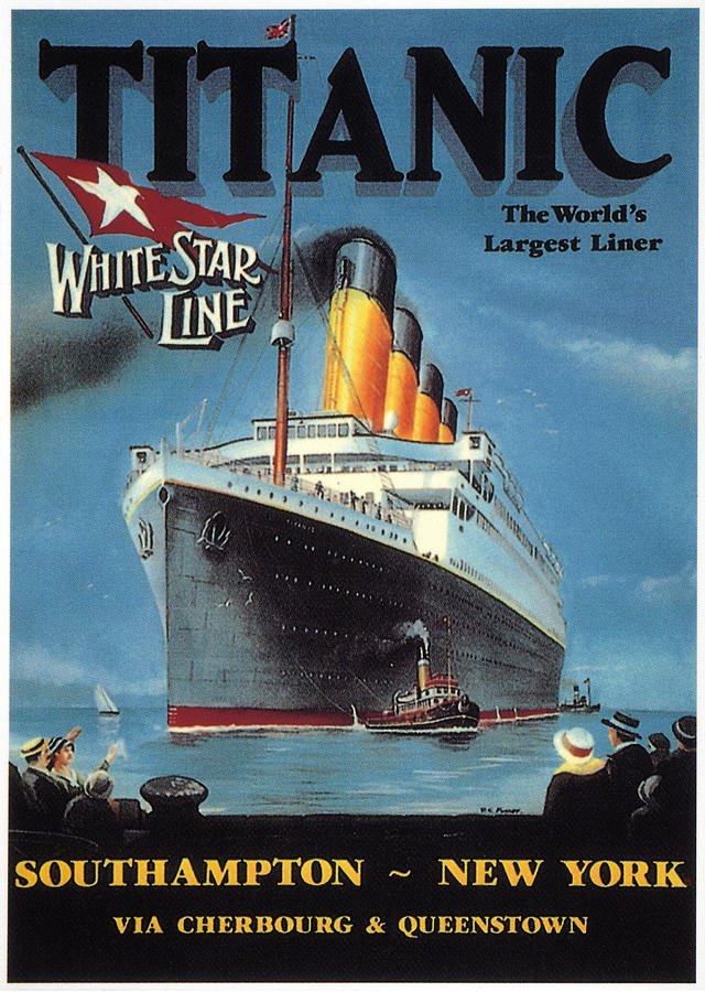 TITANIC - WHITE STAR LINE