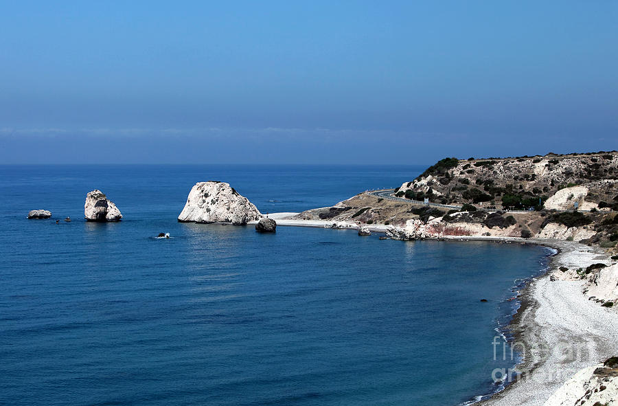 To Aphrodites Rocks Photograph