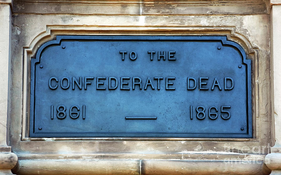 To The Confederate Dead Photograph