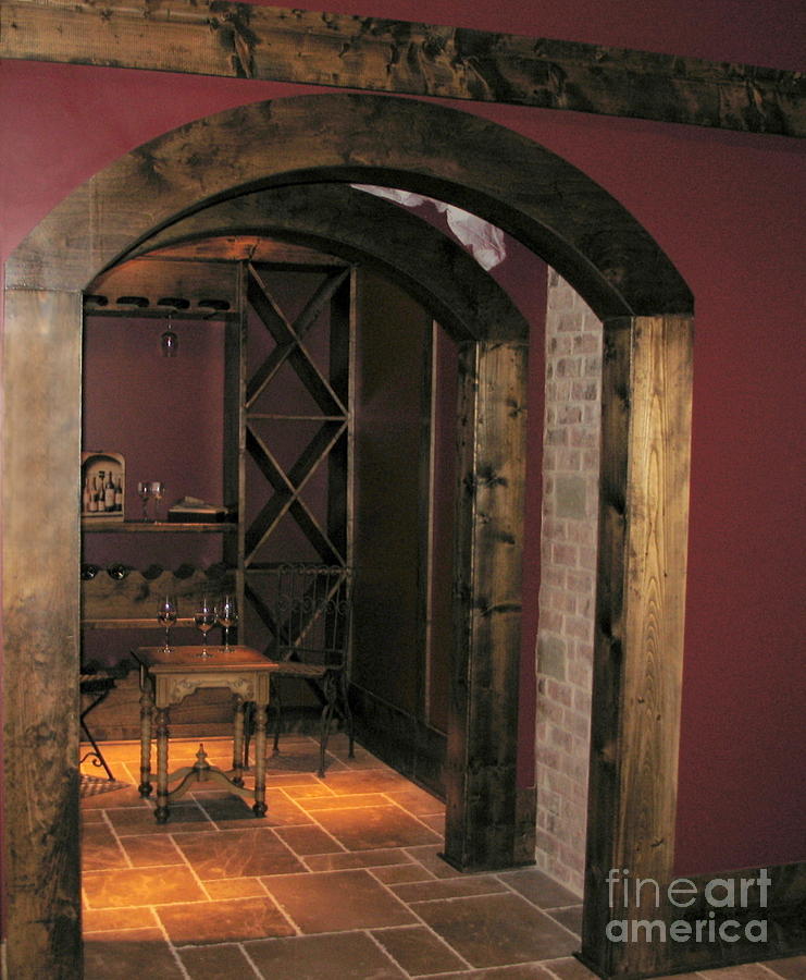 Wine Photograph - To The Wine Cellar by Renee Trenholm