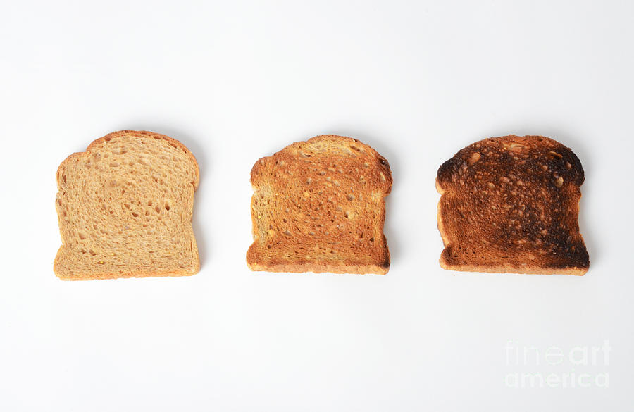 Toasting Bread Photograph