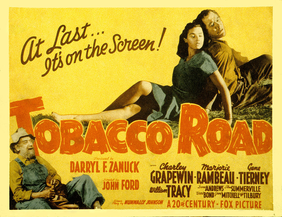 Tobacco Road, Charley Grapewin, Aka Photograph