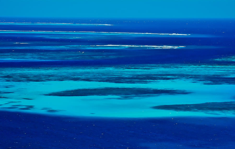 Tobago Cays In Blue Photograph