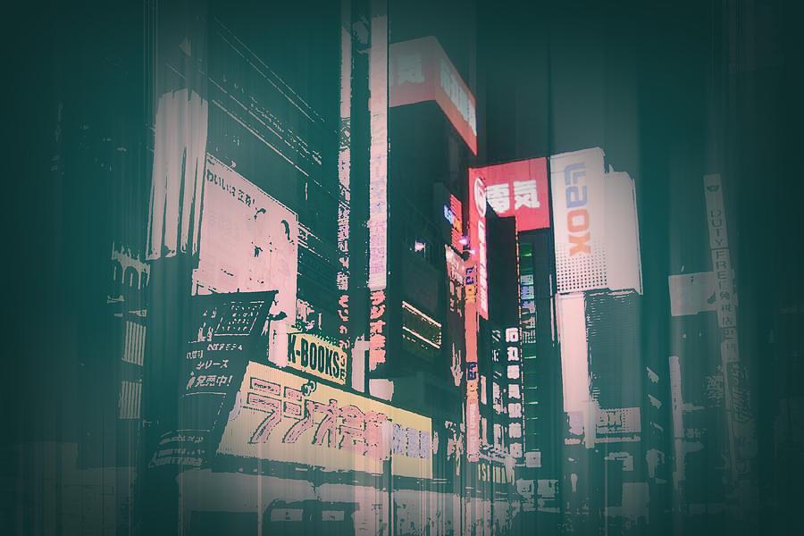 Tokyo Lights Photograph