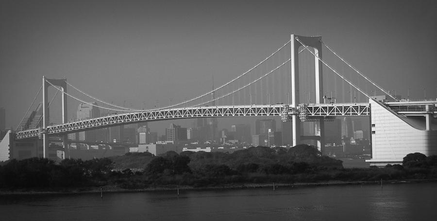 Tokyo Rainbow Bridge Photograph