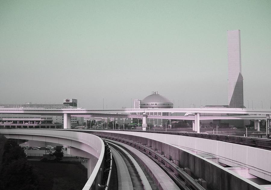 Tokyo Train Ride 2 Photograph