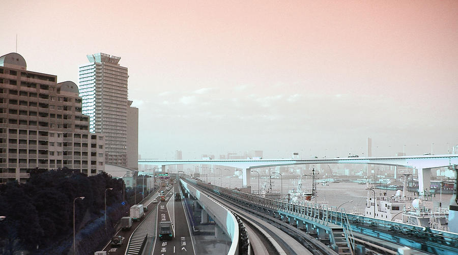 Tokyo Train Ride 3 Photograph