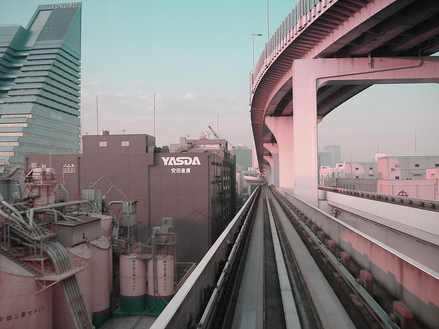 Tokyo Train Ride 5 Photograph