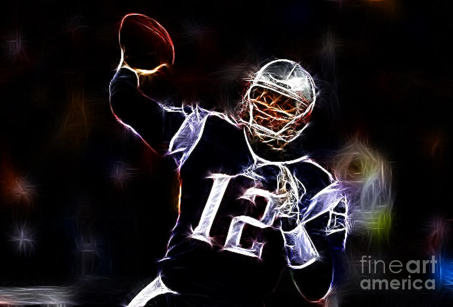 Tom Brady - New England Patriots Photograph  - Tom Brady - New England Patriots Fine Art Print