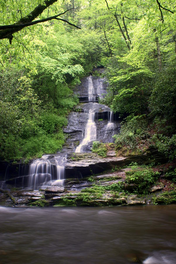 Tom Branch Falls Photograph