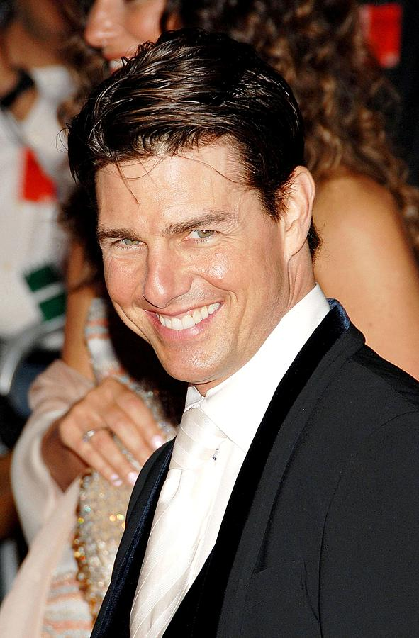 Annual Opening Night Gala Of Superheroes Fashion And Fantasy Photograph - Tom Cruise At Departures For Annual by Everett