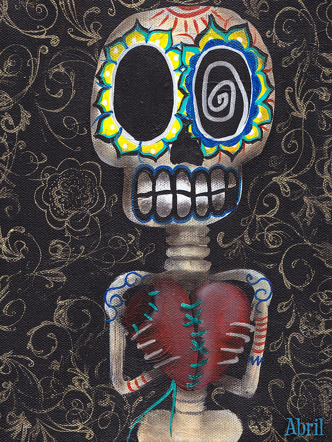 Toma Mi Corazon Painting