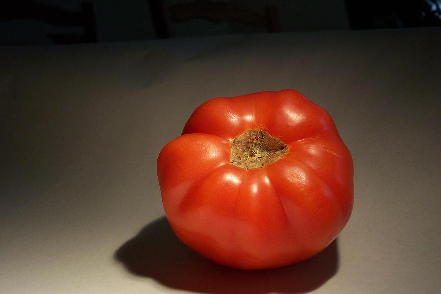 Tomato Still Life Pyrography