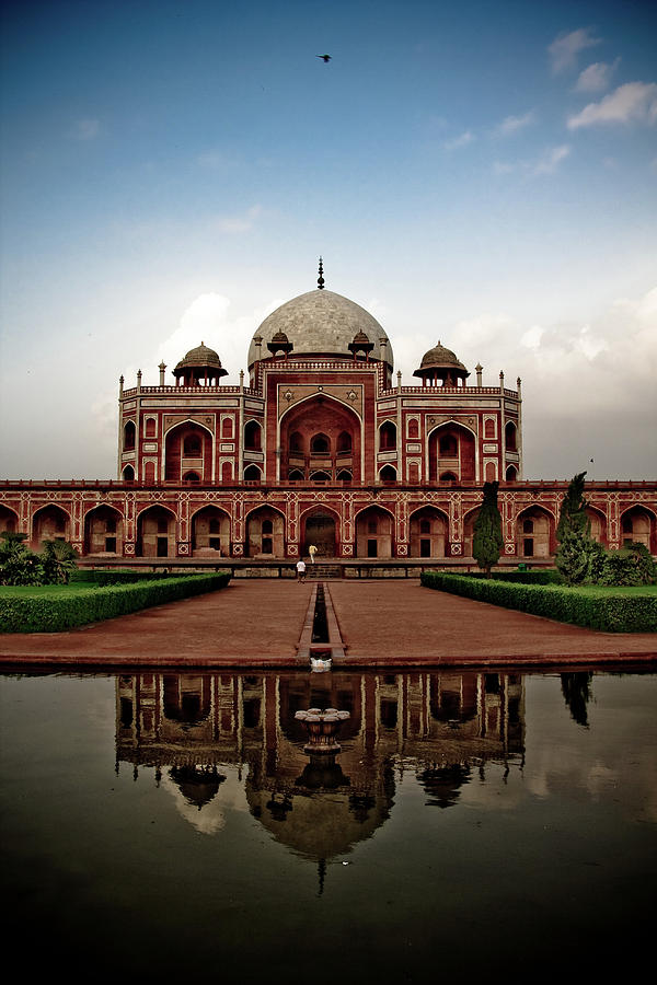 Tomb Of Humayun Photograph  - Tomb Of Humayun Fine Art Print