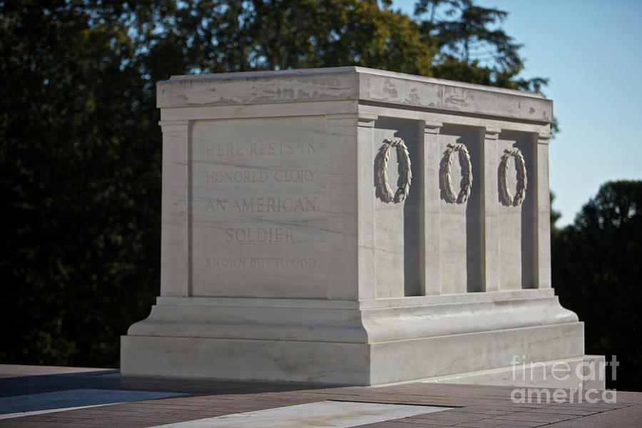 Tomb Of The Unknown Soldier, Arlington Photograph