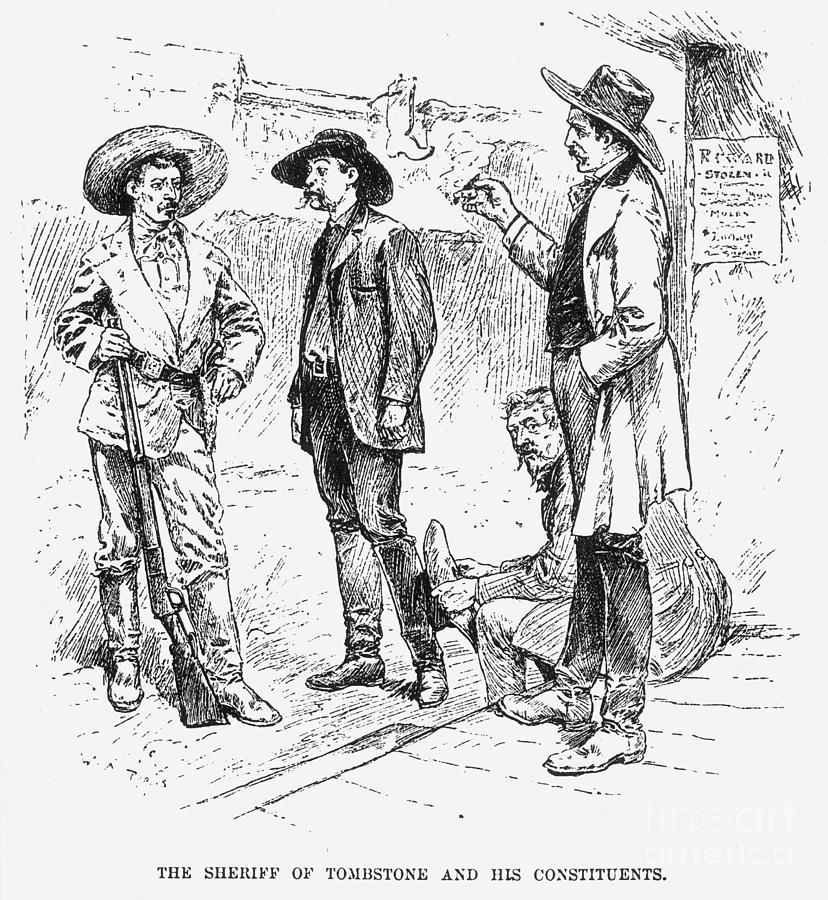 Tombstone Sheriff, 1883 Photograph
