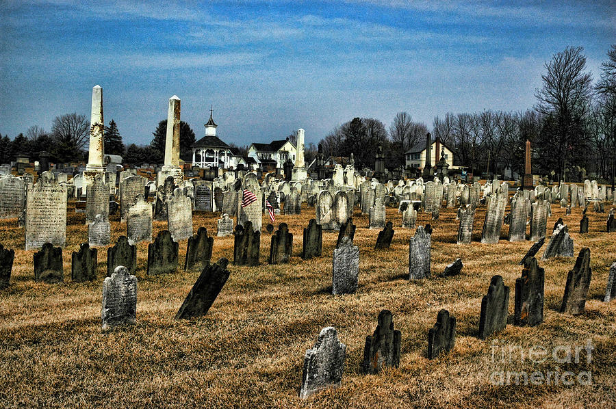 Tombstones Photograph